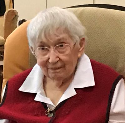 «Je crois sincèrement que la vieillesse est une grâce…» – Sr Françoise Laberge, centenaire