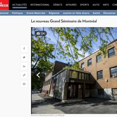 Des nouvelles de la résidence Marie-Rose Durocher transformée pour accueillir le Grand Séminaire