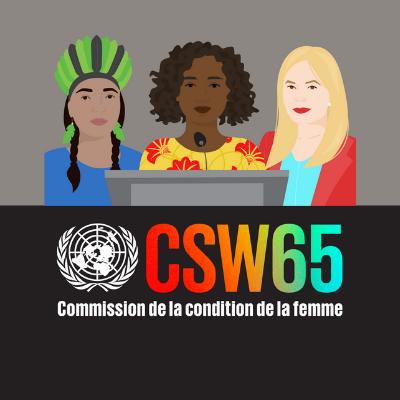 CSW65: Deux participantes constatent la nécessité d'une sensibilisation accrue pour contrer la traite