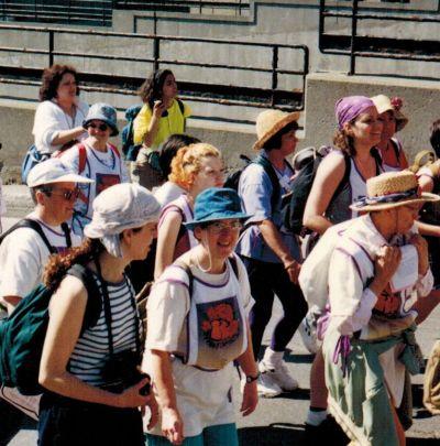 25 ans plus tard: Clin d'œil sur l'expérience vécue par des SNJM à la marche du Pain et des roses